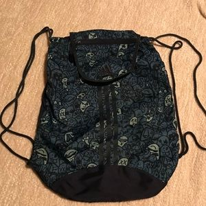 Adidas Sackpack drawstring backpack